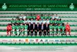 Photo de l'équipe de l'ASSE saison 2012-2013