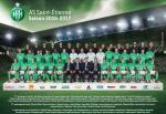 Photo de l'équipe de l'ASSE saison 2016-2017