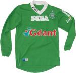 Maillot de football à domicile de l'ASSE 1999-2000