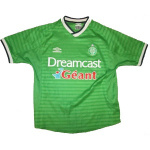 Maillot de football à domicile de l'ASSE 2000-2001
