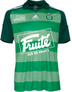 Maillot de football en coupe de l'ASSE