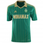 Maillot de football en coupe d'Europe de l'ASSE