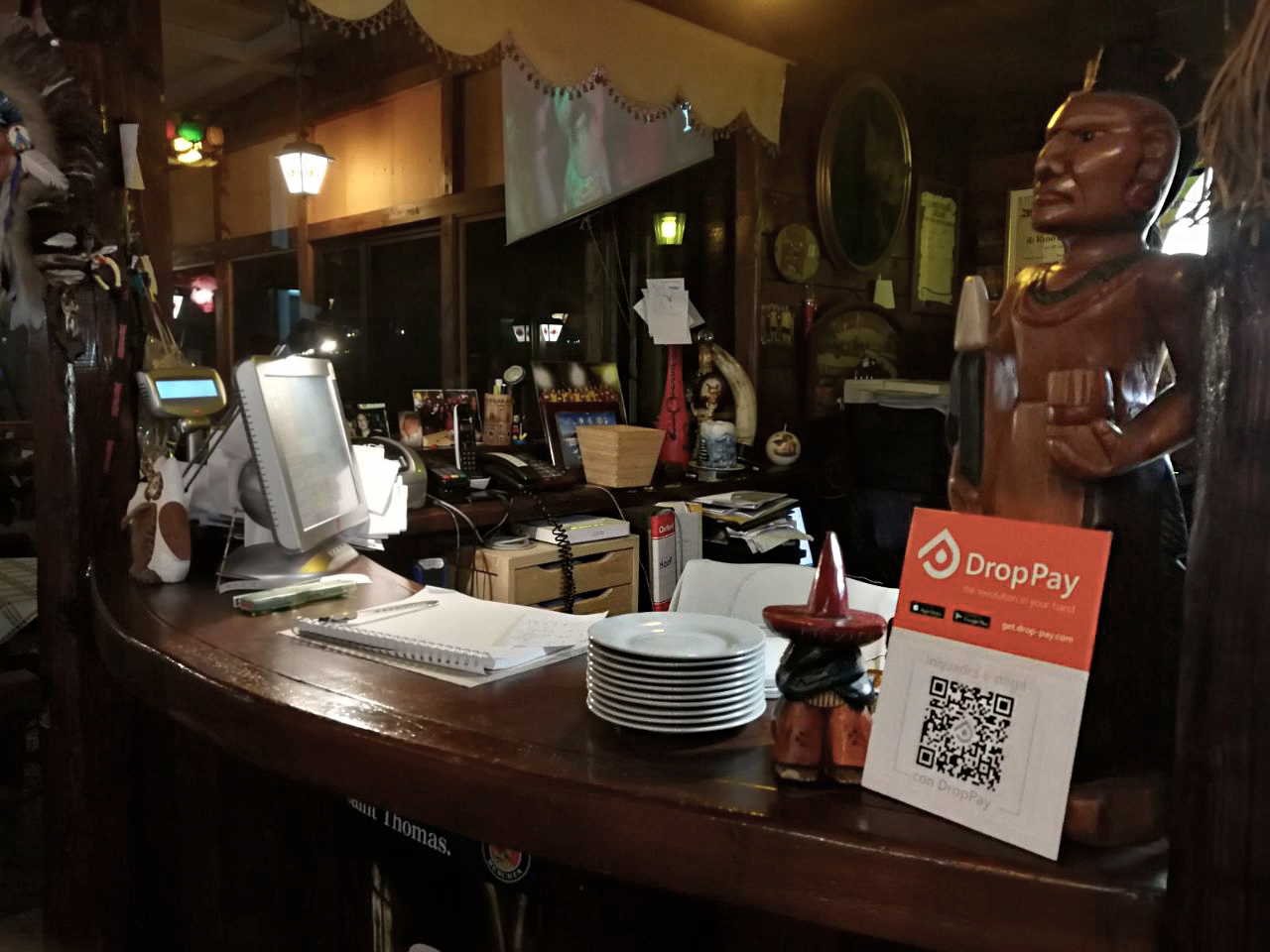 Il QR Code per pagare il tuo menu al Saloon di Catania