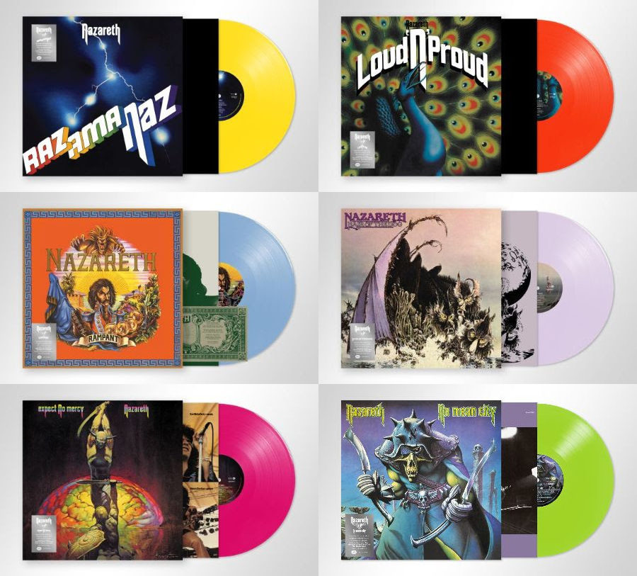 Nazareth Release A Selection Of Their Most Popular Albums