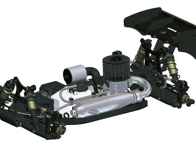 D819 1/8 Nitro Buggy von HB Racing