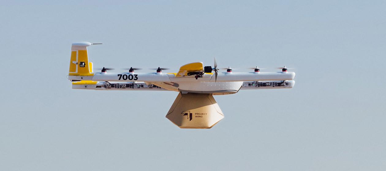 Wing startet Drohnen-Lieferdienst in Europa