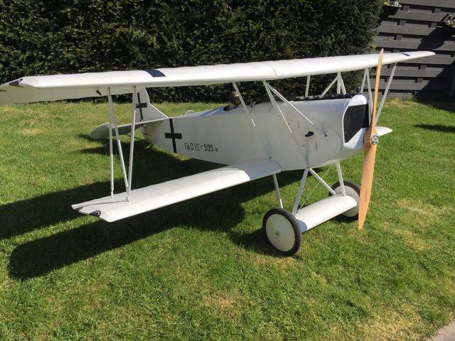Holzbausatz Fokker D-VII von SMT-RC