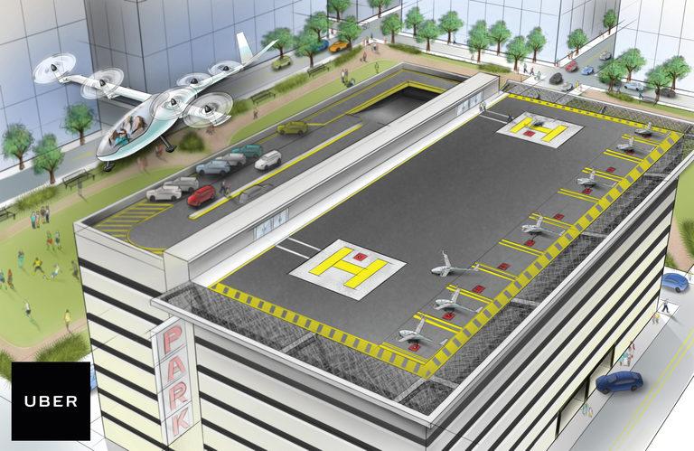 Fliegendes Taxi – Uber will Personenbeförderung revolutionieren