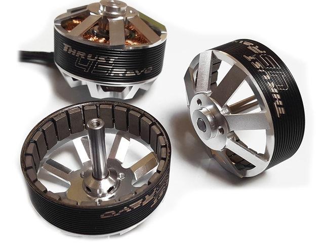 Neue Generation Thrust-Motoren bei Braeckman Modellbau