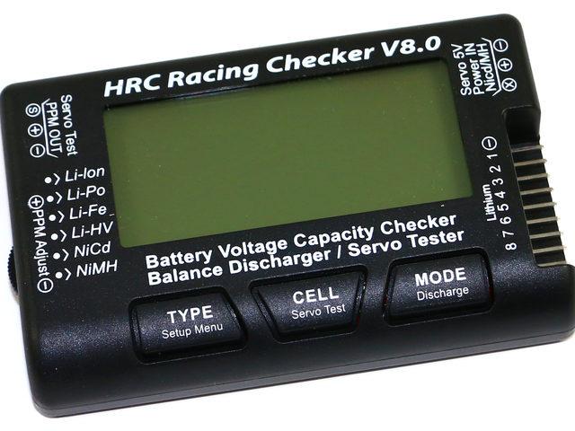 V8.0 Akku-Checker von HRC Distribution