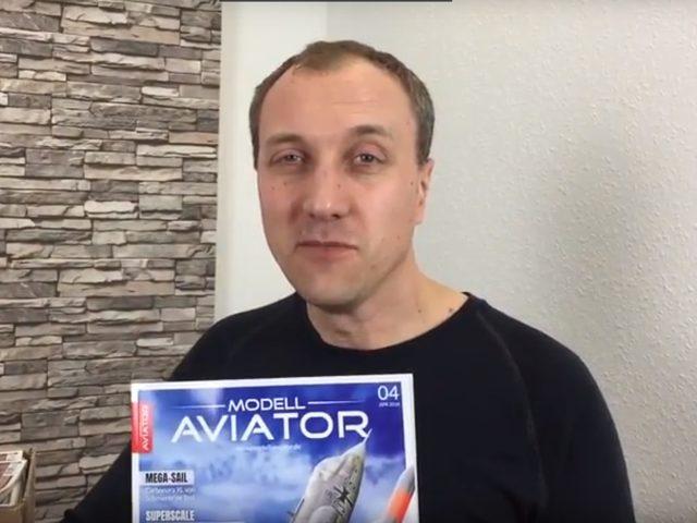 Unboxing: Die neu gestaltete Modell AVIATOR 04/18
