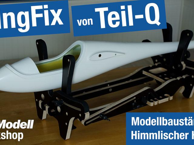 Video zu WingFix von Teil-Q – praktischer Modellbauständer von Himmlischer Höllein