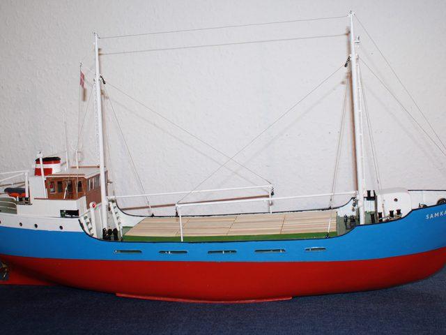 MS SAMKA von Rex-Schiffsmodelle