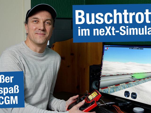 Buschtrottel im Flugsimulator neXt fliegen – großer Flugspaß mit CGM