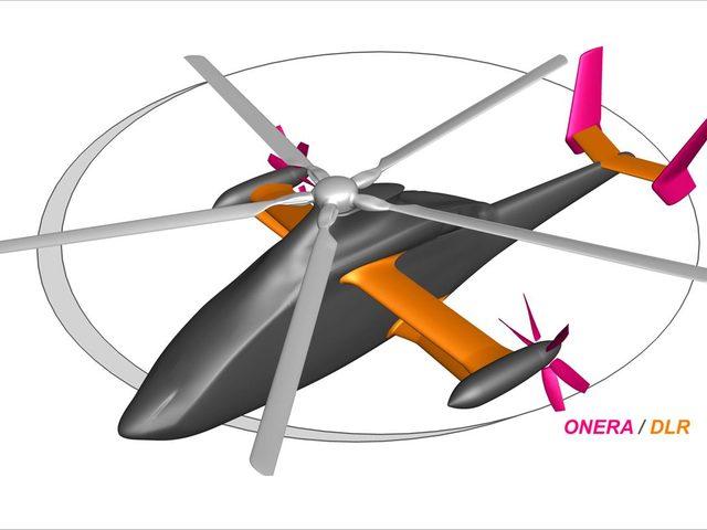 Hochgeschwindigkeits-Hubschrauber