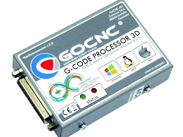 G-Code Prozessor 3D Ver. 3.0 von GoCNC