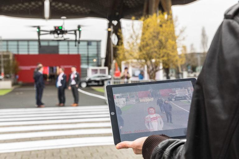 Drohne mit Gesichtserkennung