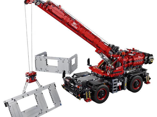LEGO Technic präsentiert neuen Kran
