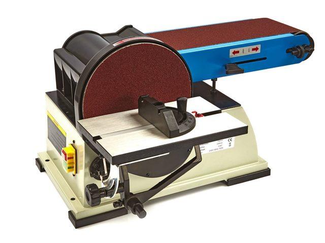 Band- und Tellerschleifmaschine HB 7231 von Baxmeier