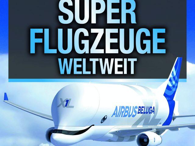 """""""DMAX Superflugzeuge weltweit"""" im Motorbuch Verlag"""