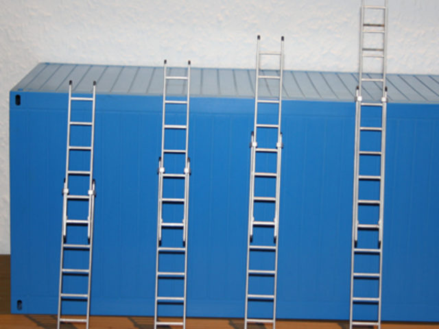 Schiebeleitern von Tönsfeldt Modellbau Vertrieb