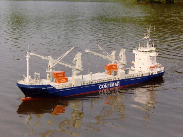 Containerschiff CONTI BRITANIA in Ausgabe 05/2017