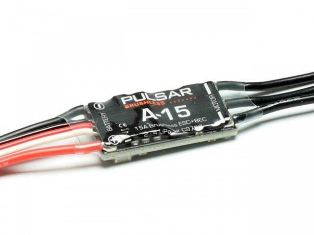 Pulsar A-15 4D Brushless-Regler von Pichler Modellbau