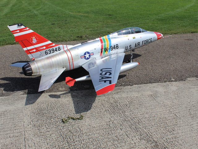 F-100 F von Tomahawk Aviation