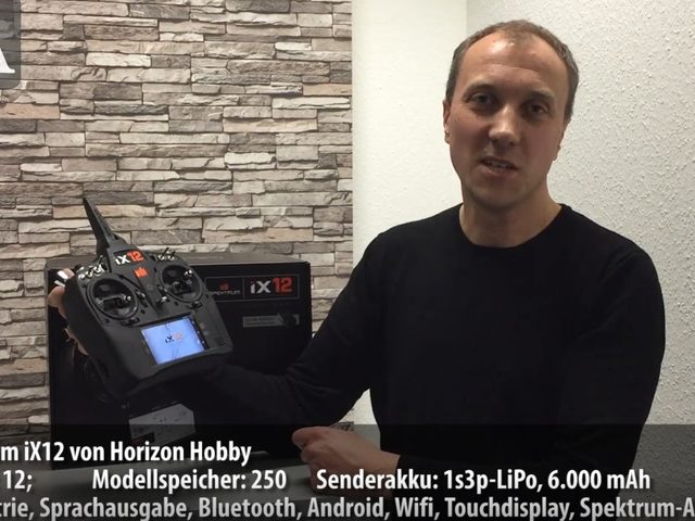 Unboxing-Video zur Spektrum iX12 von Horizon Hobby
