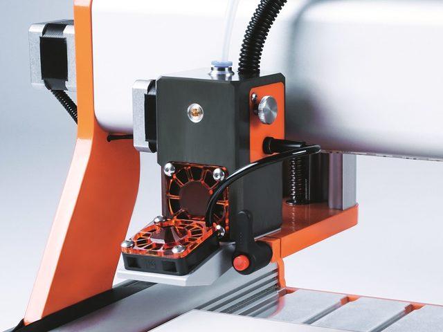 3D-Druckkopf für multifunktionale CNC-Systeme von Stepcraft