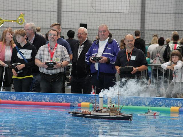 Leinen los für Schiffsmodelle in Leipzig