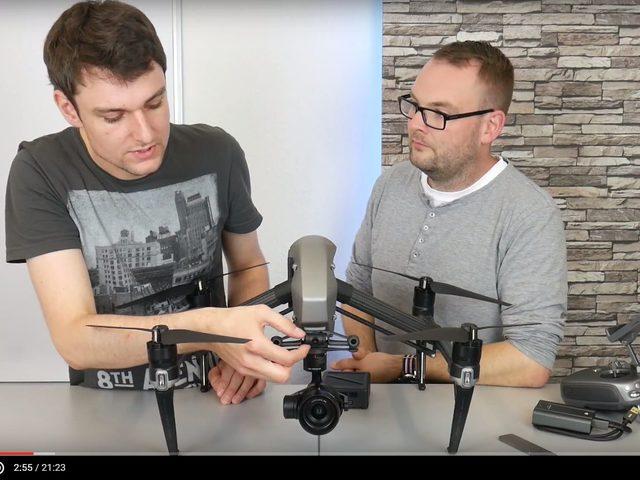 Video-Testbericht: Inspire 2 von DJI mit 5,2k-Kamera