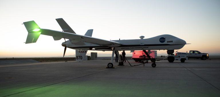 NASA testet Ikhana-Drohne