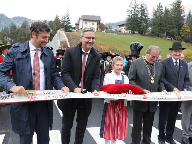 Neue Brücke in Pedratsches eröffnet