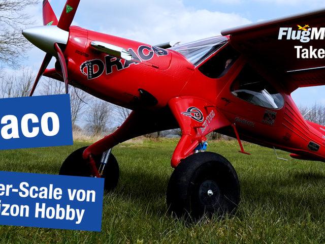Video: Draco 2.0m von Horizon Hobby im Take-off, dem etwas anderen Unboxing von FlugModell