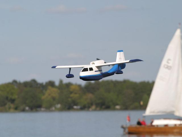 Wasserflugtag Plau am See um den 1. Mai