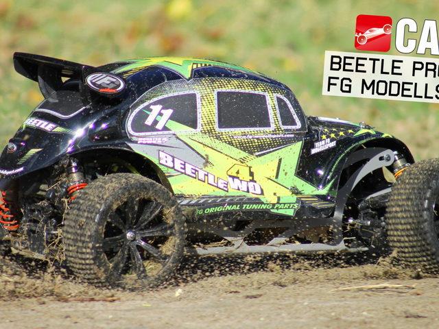 Beetle Pro 4WD von FG Modellsport in Action