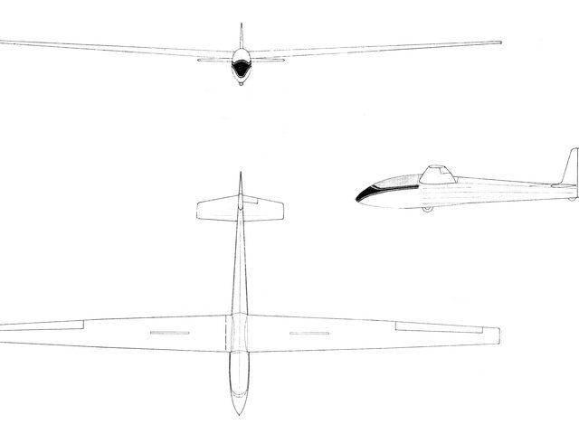 SF-27M von Schambeck Luftsporttechnik