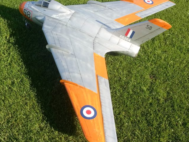 Jet-Modell DH-108 Swallow von RBC-Kits