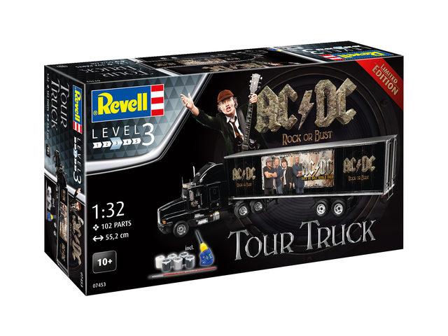 Tour-Truck im AC/DC-Design bei Revell