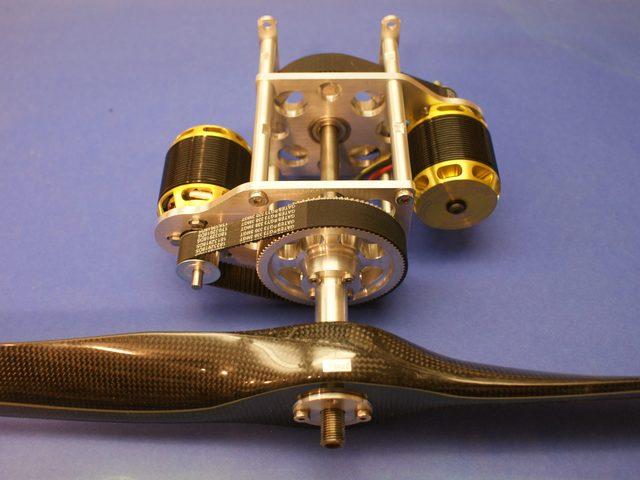 Zahnriemengetriebe TWIN-Gear-XL von eAnSys