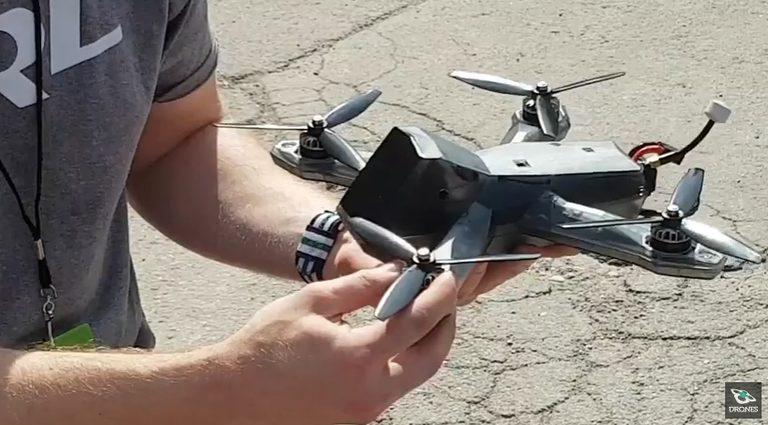 DRLs Race-Drohne 2017 kurz vorgestellt