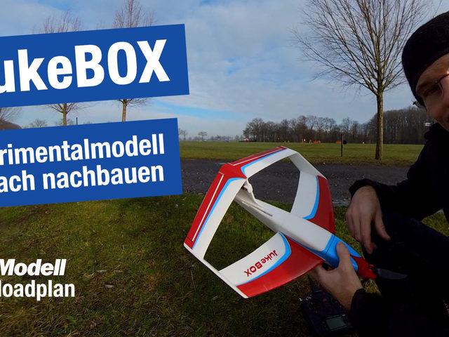 JukeBOX, Experimentalmodell als Downloadplan von Hilmar Lange aus FlugModell 6/2021