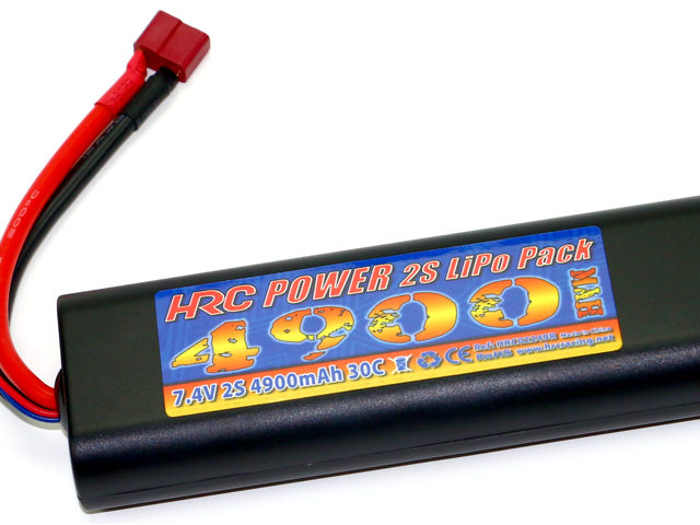 4900mAh Rounded Hard Case LiPo Hobby Packs von HRC Distribution