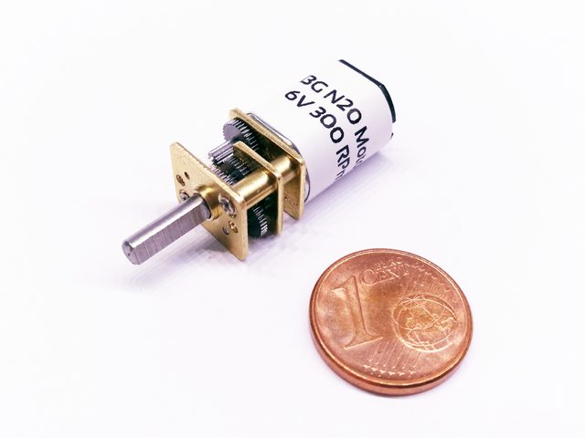 Getriebemotor der Baugröße N20 von Comvec