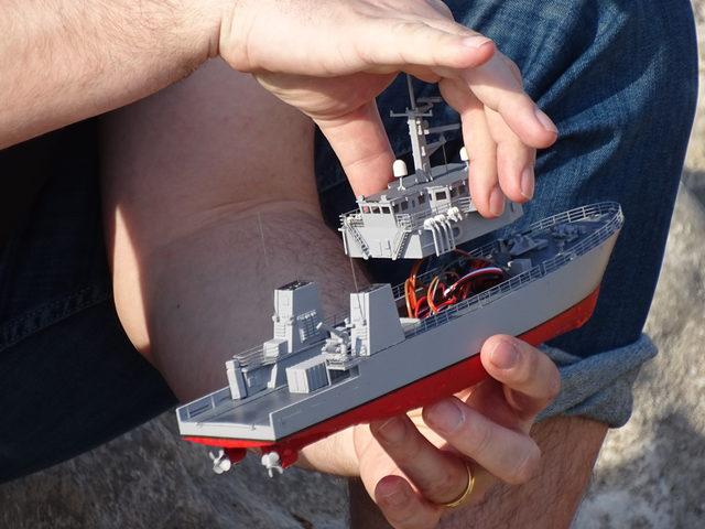 Patrouillenschiff KINGSTON aus dem 3D-Drucker – mit Plan zum downloaden