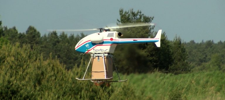Drohnen in humanitärer Mission