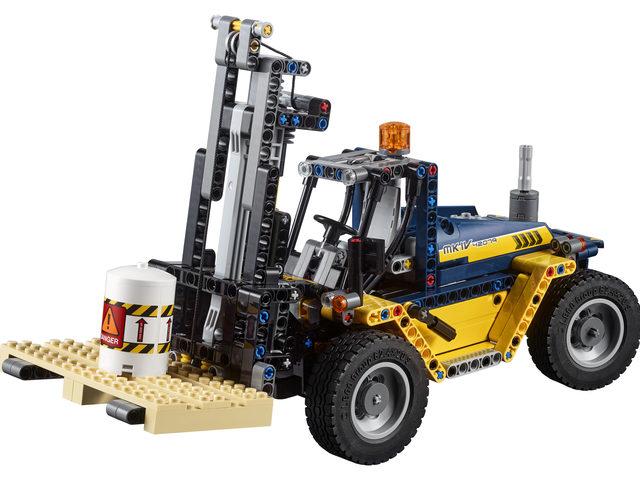 LEGO Technic-Serie: Schwerlast-Gabelstapler