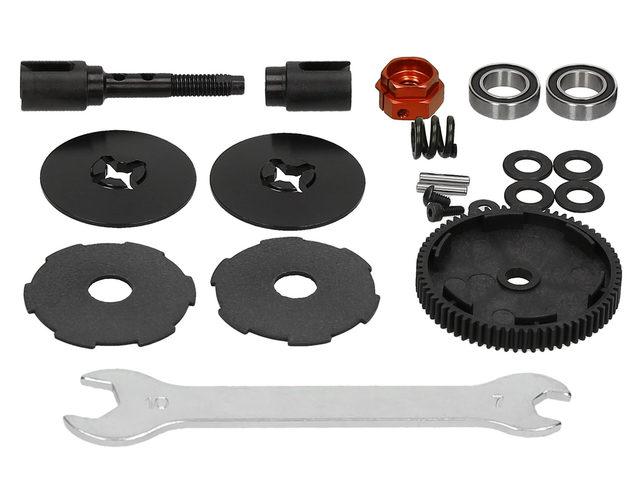 Slipper-Set für HB-Racing-D418-Buggys