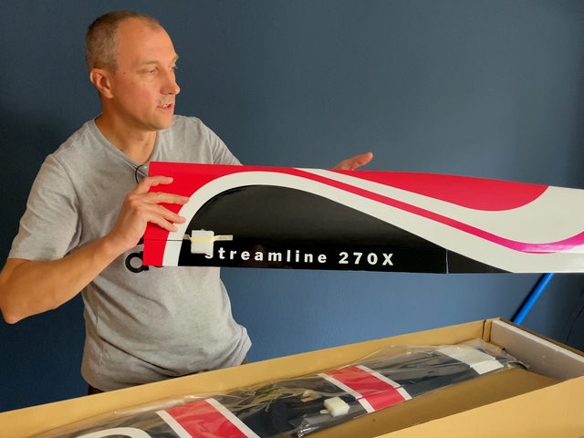 Streamline 270X von D-Power-Modellbau – Elektrosegler im FlugModell- Unboxing